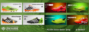 Download 8 Adidas and Nike Boots From PES 2014 DLC 5.00