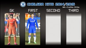 Download PES 2014 Chelsea Kits 2014-2015 by Mr.Cena