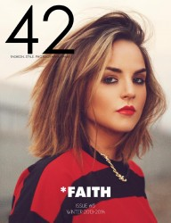 JoJo Levesque in 42 Magazine - Issue #5 Winter 2013-2014