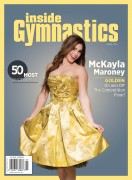 Mckayla Maroney - Inside Gymnastics Cover
