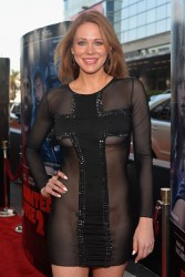 "Maitland  Ward - Wearing a Sheer Dress at the ""A Haunted House 2"" Premiere in LA 4/16/14"