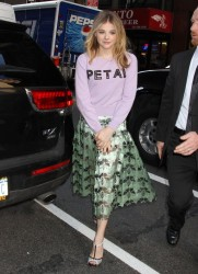 Chloe Grace Moretz - Arriving to 'The Today' Show in NYC 4/17/14