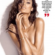 leather underwear Nicole Trunfio