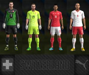 Download PES 2013 Switzerland WC Kits 2014 by AkmalRW