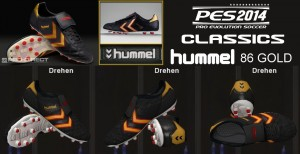 Download PES 2014 Classic Hummel 86 Gold Football Boots by Ron69