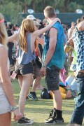 Bella Thorne - At Coachella Weekend 2 4/19/14