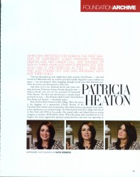 Patricia Heaton her life in 4 pages