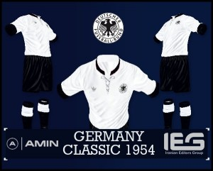 FIFA14 Germany Classic Home Kit 1954 by amin2244