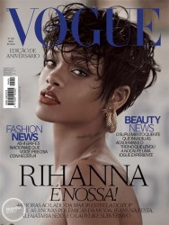Rihanna Covers VOGUE Brazil - May 2014