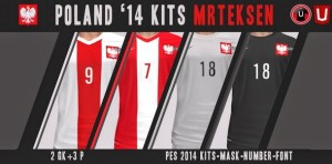 Download PES 2014 Poland 14 Kits by MrTeksen