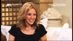 Kylie Minogue - MTV Asks Kylie 26th February 2014 576p
