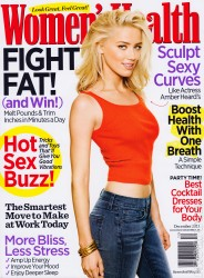Amber Heard 'Womens Health Magazine Dec '11