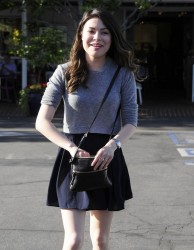 Miranda Cosgrove -  Leaving Fred Segal in West Hollywood 4/30/14