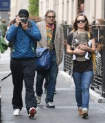 Olivia Wilde - Taking a stroll with her family in NYC 5/1/14
