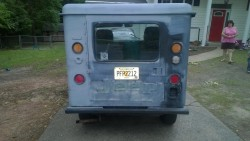 Some guys wives buy Coach Purses, Jewelry and Shoes....Mine buys an old postal jeep!  She's a keeper! 69efed324248874