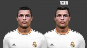 Download PES 2014 Cristiano Ronaldo and Mevlut Erding Face by Emre Kaya