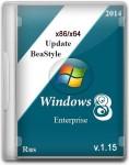 Windows 8.1 Enterprise x86/x64 Update BeaStyle v.1.15 (2014/RUS)