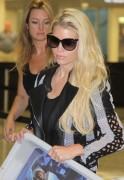 Jessica Simpson - At the Washington Dulles Airport 5/4/14