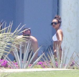 Naya Rivera bikini vacation thong candids 24