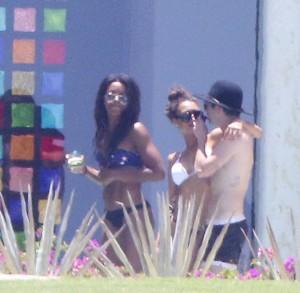 Naya Rivera bikini vacation thong candids 26