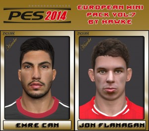 Download PES 2014 European Mini Pack Vol.7 by Hawke