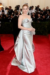 Amy Adams - 2014 Met Gala in NYC 5/5/14