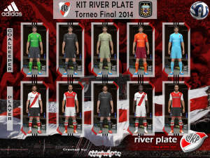 Download PES2014 River Plate Kit 2014 by Antonio-AHA