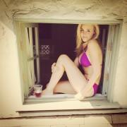 AJ Michalka - Bikini Instagam Pic 5/11/14