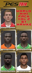 Download PES 2014 World Mini Pack Vol. 2 by Hawke