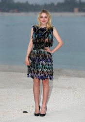 Dakota Fanning - Chanel Cruise Collection 2014/2015 Photocall in Dubai 5/13/14