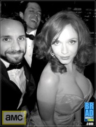Christina Hendricks at the AMC Emmy After Party at Lure in Hollywood on September 23, 2012
