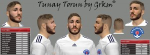 PES2014 Tunay Torun Face by Facemaker Grkm