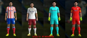 Download PES 2013 Atletico Madrid 14-15 By Watanyou
