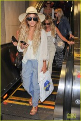 Vanessa Hudgens & Ashley Tisdale - LAX Airport 5/19/14