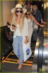 Vanessa Hudgens & Ashley Tisdale - LAX Airport 5/19/14