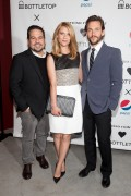 Claire Danes (w/Hugh Dancy) ~ Narciso Rodriguez Bottletop Collection May 8, 2014
