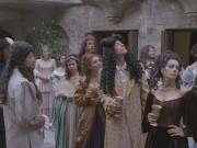 Brigid Brannagh - The Man in the Iron Mask (cleavage)