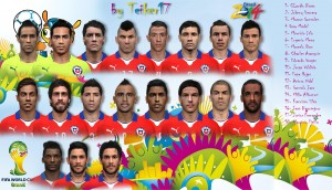 Download PES 2014 Facepack Chile Fifa World Cup Brasil 2014 by Teiker17