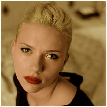 Scarlett Johansson - 4 Pictures - Colored by me