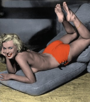 Marilyn Monroe - 44 Pictures - Colored by me:)