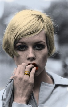 Twiggy - Pictures - Colored by me (1 with Kate Moss)