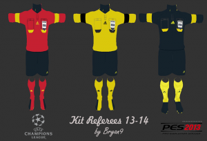 Download pes 2013 Kit Referees UCL 13-14 by Bryan9
