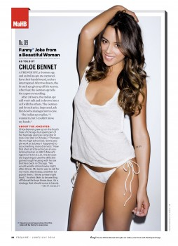 Chloe Bennet - Esquire Magazine June/July 2014 Scan UHQ