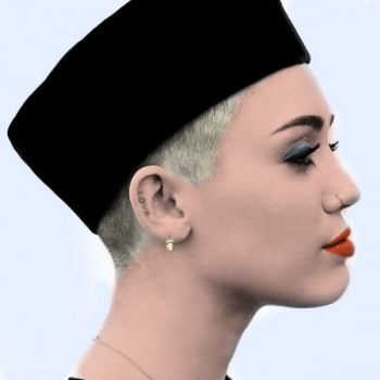 Miley Cyrus - 2 b/w Pictures - Colored by me