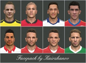 Download PES 2014 New Facepack by Kairzhanov