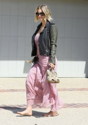 Kaley Cuoco - Leaving Joel Silver's Annual Memorial Day Party in Malibu 5/26/14