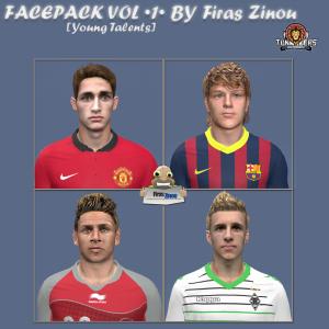 Download Young Talents FacePack vol. 1 by Firas Zinou