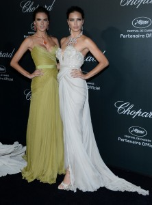 Adriana Lima & Alessandra Ambrosio @ Chopard party, Cannes, 19.05.14 - 9 UHQ