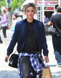 Hilary Duff - Going to a nail salon in LA 5/28/14