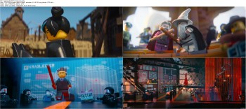 Download The Lego Movie (2014) BluRay 720p 700MB Ganool